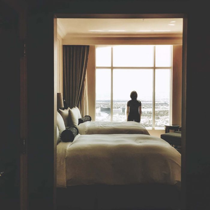 Three weeks in a hotel room with a child