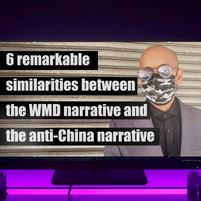6 Remarkable similarities between the WMD narrative and the anti-China one